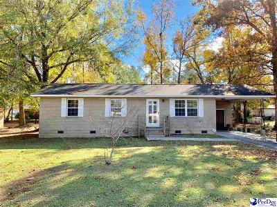 Kingstree Single Family Home Uc/Show For Back Up: 60 Shady