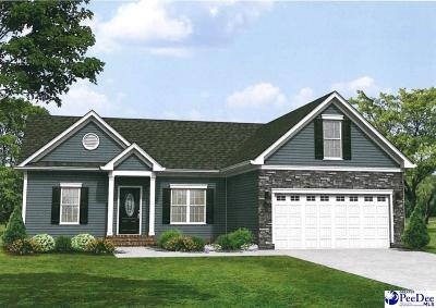 Hartsville SC Single Family Home Under Contingency Cont: $189,990
