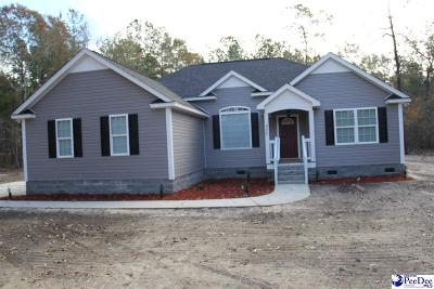 Hartsville Single Family Home Uc/Show For Back Up: 827 N Marquis Hwy
