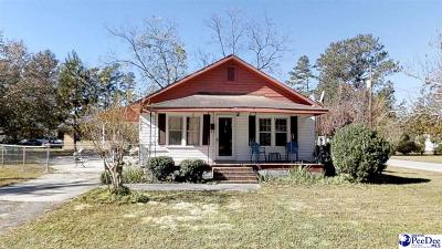 Marion SC Single Family Home For Sale: $59,999