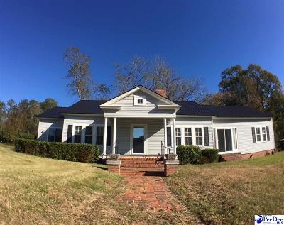 Dillon County Single Family Home For Sale: 218 E Bamberg Street