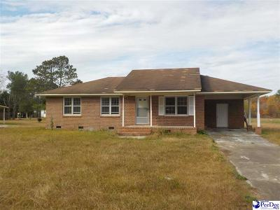 Bennettsville SC Single Family Home For Sale: $67,000