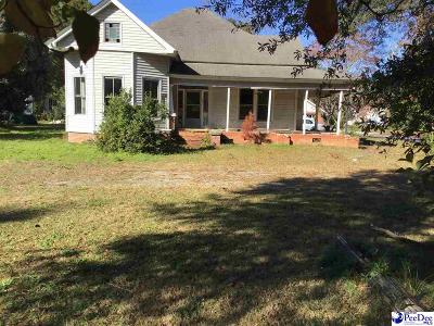 Hartsville Single Family Home For Sale: 824 W Home Ave