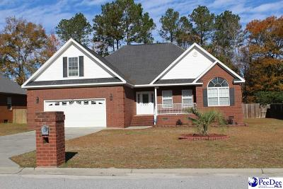 Florence SC Single Family Home For Sale: $260,000