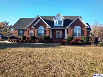 Florence SC Single Family Home For Sale: $330,000