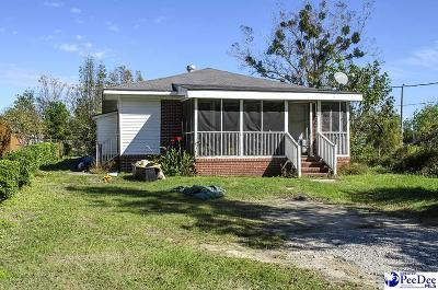 Dillon Single Family Home Active-Price Change: 516 Beaufort St