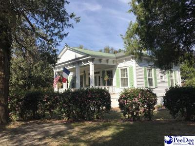 Hartsville Single Family Home For Sale: 1452 E Bobo Newsom Hwy