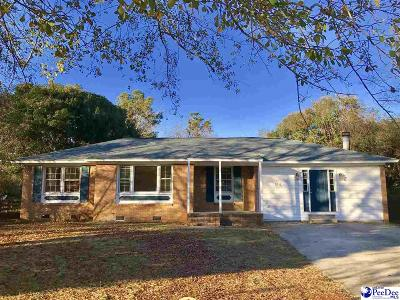 Florence SC Single Family Home For Sale: $82,900
