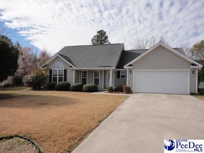 Effingham Single Family Home Uc/Show For Back Up: 2133 Pathway Court