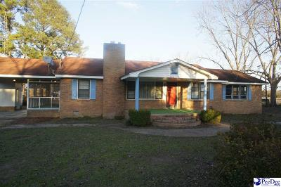Wallace SC Single Family Home For Sale: $129,000