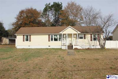 Hartsville Single Family Home Uc/Show For Back Up: 206 Jackson St.