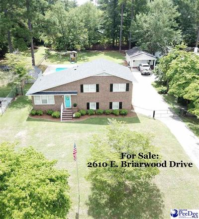 Florence  Single Family Home For Sale: 2610 Briarwood Drive