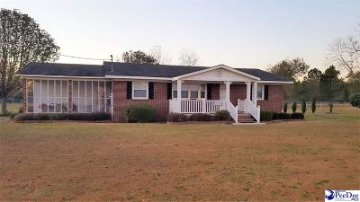 Dillon Single Family Home For Sale: 1911 S Highway 301