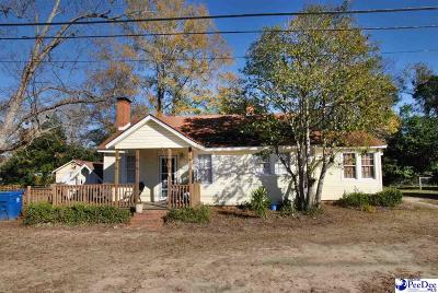 Hartsville Single Family Home For Sale: 303 S 11th St
