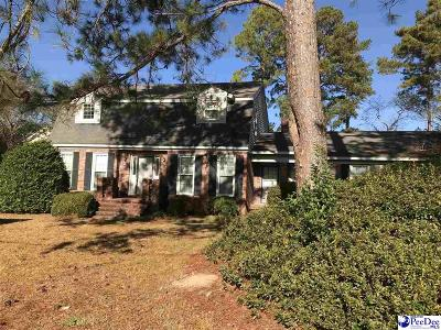 Florence  Single Family Home Uc/Show For Back Up: 609 N Lansdowne Dr
