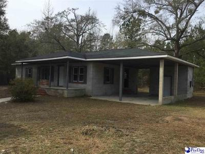 Cades SC Single Family Home For Sale: $60,000