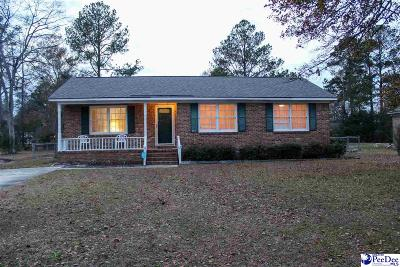 Florence Single Family Home Uc/Show For Back Up: 2217 Pine Forest Dr