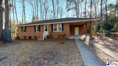 Florence Single Family Home For Sale: 1004 Springwood Drive