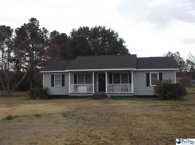 Florence Single Family Home For Sale: 5801 Liberty Chapel Rd.