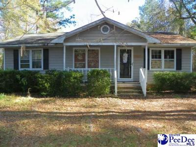 Florence Single Family Home For Sale: 2543 S Charleston