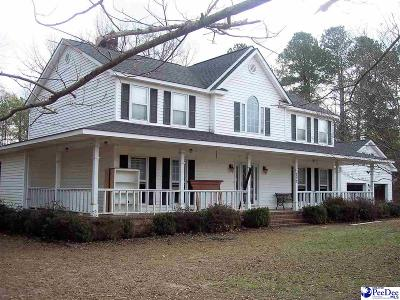 Dillon County Single Family Home Uc/Show For Back Up: 252 Riverwood Drive