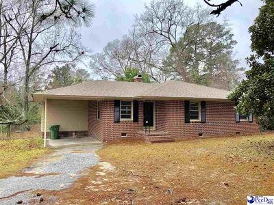Florence Single Family Home Uc/Show For Back Up: 1127 S Edisto