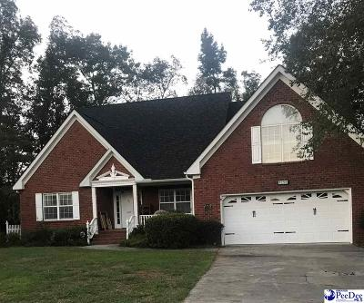Florence SC Single Family Home For Sale: $279,900