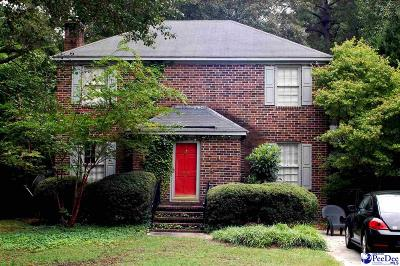 Florence  Single Family Home For Sale: 27 Manigault Court