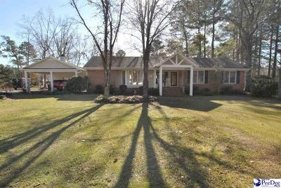 Timmonsville Single Family Home Uc/Show For Back Up: 3015 Land Grant Drive