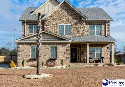 Florence Single Family Home For Sale: 1661 Lake Wateree Dr
