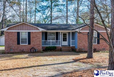 Hartsville Single Family Home For Sale: 1029 Woodman Dr