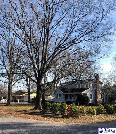 Bennettsville Single Family Home Uc/Show For Back Up: 317 Pinewood Street