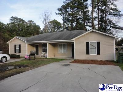 Florence Multi Family Home Uc/Show For Back Up: 1209 Harmony Street