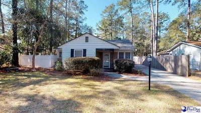 Florence  Single Family Home Uc/Show For Back Up: 809 Pine Acres Drive