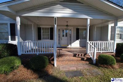 Florence County Single Family Home Back On Market: 2058 Hwy 52