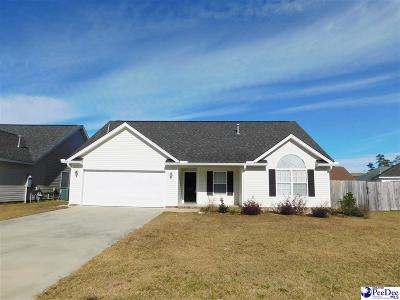 Florence Single Family Home For Sale: 409 Lilo Lane