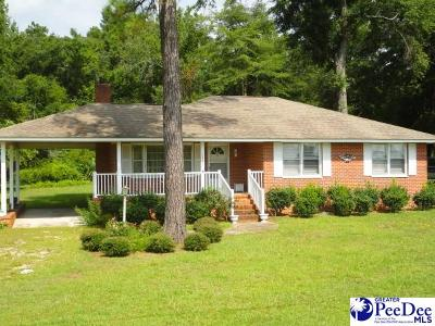 Florence Single Family Home For Sale: 2829 T. V. Road