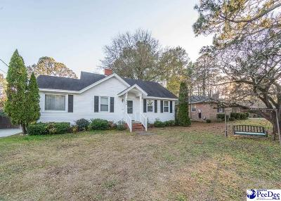 Florence Single Family Home Uc/Show For Back Up: 1306 W Palmetto Street