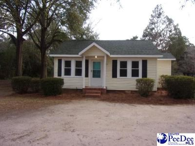 Hartsville Single Family Home Uc/Show For Back Up: 411 Green St