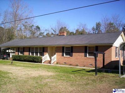 Florence  Single Family Home For Sale: 2436 Francis Marion Road