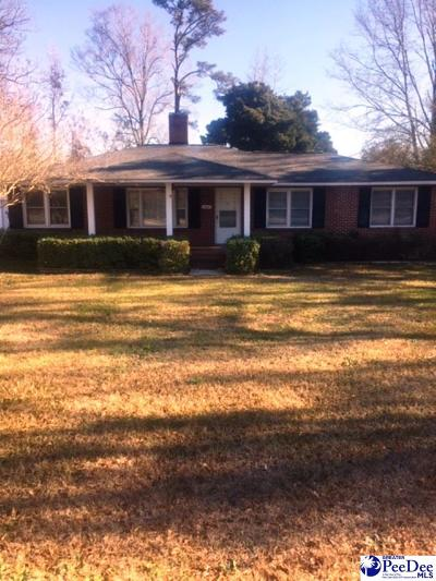 Florence SC Single Family Home New: $124,500