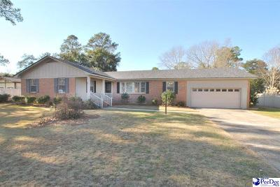 Florence  Single Family Home Uc/Show For Back Up: 923 S Dunes Dr