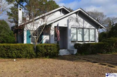 Hartsville Single Family Home For Sale: 107 N 1st Street