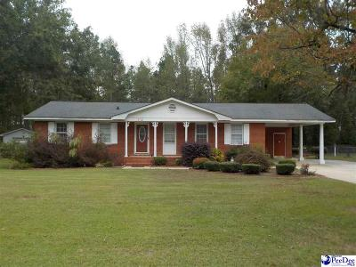 Bennettsville Single Family Home Uc/Show For Back Up: 412 Oakwood Street