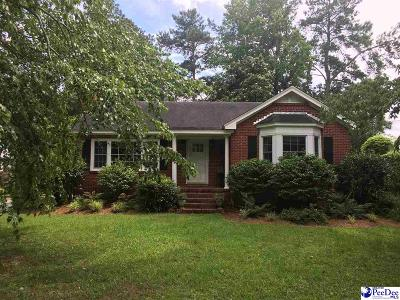 Florence Single Family Home For Sale: 618 Cherokee Road