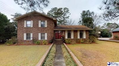 Florence  Single Family Home Uc/Show For Back Up: 2015 W Sandhurst Drive