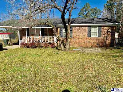 Kingstree Single Family Home Uc/Show For Back Up: 192 Oakland