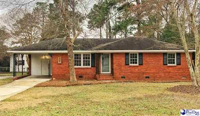 Florence  Single Family Home Uc/Show For Back Up: 408 E Rico Drive