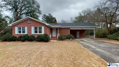 Florence Single Family Home Uc/Show For Back Up: 810 Cheraw Drive