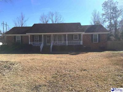 Florence SC Single Family Home Uc/Show For Back Up: $192,900